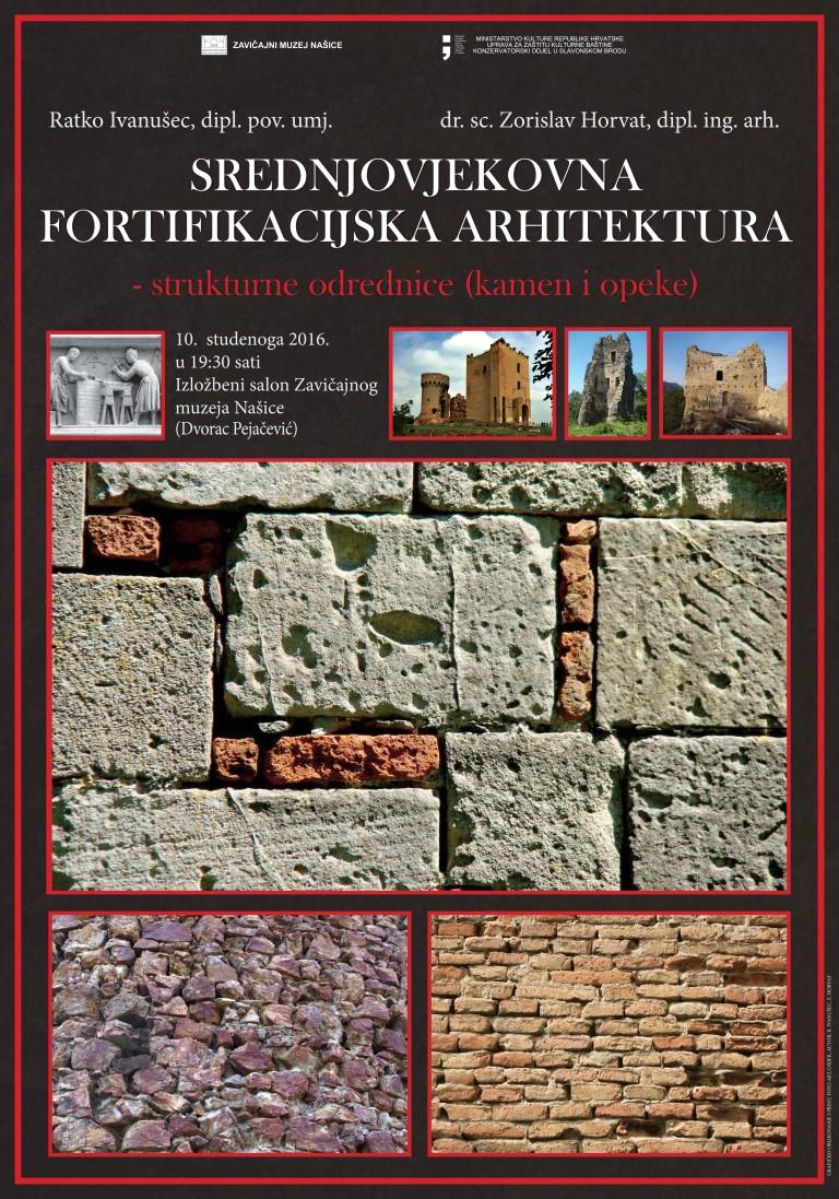 """Otvorena izložba """"Srednjovjekovna fortifikacija arhitektura – strukturne odrednice (kamen i opeka)"""""""